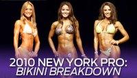 2010 IFBB NEW YORK PRO BIKINI BREAKDOWN