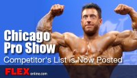 2012 Chicago Pro Show Competitor's List