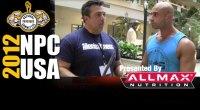 Christopher Villa Interview Before the 2012 NPC USA'a