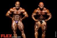 2012 Australian Pro PreJudging Comparisons Between Warren & Kefalianos