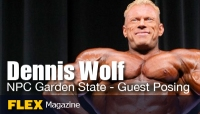 Dennis Wolf Guest Posing at the NPC Garden State