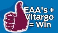 EAA's + Vitargo = Win