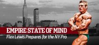FLEX LEWIS PREPARES FOR THE NY PRO 202!