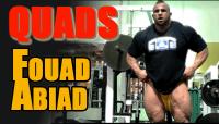 IFBB Pro Foaud Abiad Trains Quads & Calves