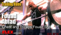 Fouad Abiad Chest and Tricep Workout