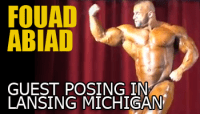 Day in the Life of a Pro - Fouad Abiad Guest Posing at Lansing Grand Prix