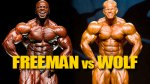 OLYMPIA DREAM MATCHUP: FREEMAN VS WOLF