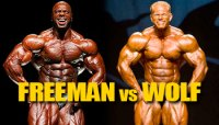 OLYMPIA DREAM MATCHUP: FREEMAN VS WOLF