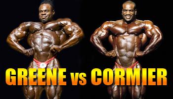 OLYMPIA CLASH OF THE TITANS: GREENE VS. CORMIER