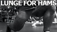 LUNGE FOR HAMS