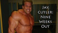 CUTLER: 9 WEEKS OUT FROM THE OLYMPIA