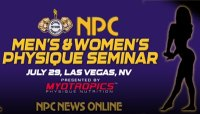 NATIONAL PHYSIQUE COMMITTEE ANNOUNCES FIRST-EVER MEN'S AND WOMEN'S PHYSIQUE SEMINAR