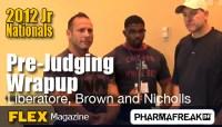2012 NPC Jr Nationals PreJudging Wrapup