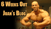 Juan Morel Blog - Adventures at 6 Weeks out from Pro Debut