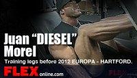 Juan Morel Blasting Legs for the 2012 Europa Battle of Champions