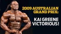 2009 AUSTRALIAN GRAND PRIX: KAI GREENE VICTORIOUS