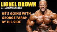 Add Lionel Brown to the 2012 Australian Pro Competitor's List!