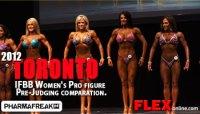 IFBB Women's Pro figure
