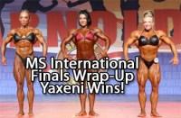 Chad Nicholls Wraps-Up the Ms International IFBB Pro Women Bodybuilding