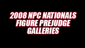 2008 NPC NATIONALS FIGURE PREJUDGING  GALLERIES