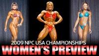 2009 NPC USA CHAMPIONSHIPS: WOMEN'S PREVIEW