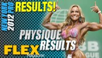 2012 New York Pro Men and Women Physique Results