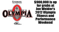 OLYMPIA PRIZE MONEY HITS ALL-TIME HIGH