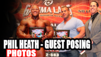 "*Photos* Phil Guest Posing @ 2012 ""Muscle Mafia"" NPC NATURAL OHIO"
