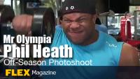 Phil Heath Off-Season Workout - Golds Gym, Venice
