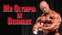 Phil Heath Guest Posing in Denmark at the 2012 Loaded Cup - Swole!