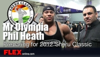 Mr Olympia Phil Heath on his Preparation for the Olympia and Sheru Classic