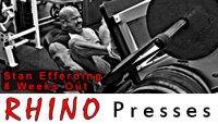Rhino Leg Presses!!