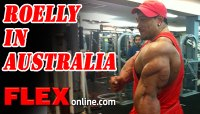 IFBB Pro Roelly Winklaar Flies 20 Hours to Visit with Fans