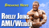 Breaking News: Roelly Winklaar Signs with AMI/Weider