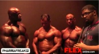 Larry Brown Interviews the 2012 Jr. Nationals with Winners Richards, Reich, and Cohen after the 2012 NPC Jr. Nationals