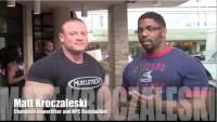Larry Brown Interviews Matt Kroczaleski the 2012 NPC Jr. Nationals