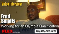 Fred Smalls Interview - Working for Olympia Qualification