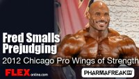IFBB Pro Fred Smalls Prejudging Routine - Chicago Pro
