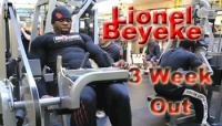 Lionel Beyeke: 3 Weeks Out from the Flex Pro 2012