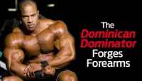 DON'T FORGET THE FOREARMS