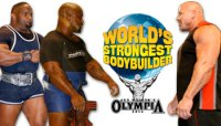 JACKSON WON'T BE 2010 WORLD'S STRONGEST BODYBUILDER