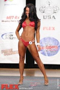 Natalie Abrheim - Womens Bikini -  Muscle Contest Pro Bikini Championships 2011