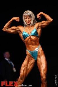 Aurelia Grozajova - Womens Open - FIBO Power Pro Championships 2011