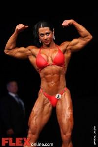 Eleni Kavva - Womens Open - FIBO Power Pro Championships 2011