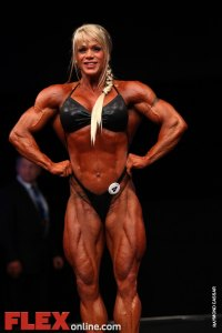 Cathy LeFrancois - Womens Open - FIBO Power Pro Championships 2011