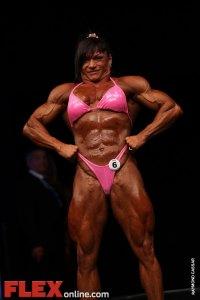 Claudia Partenza - Womens Open - FIBO Power Pro Championships 2011