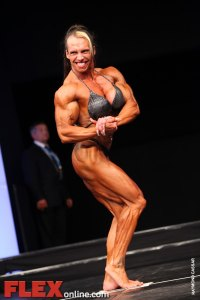 Roberta Tuor - Womens Open - FIBO Power Pro Championships 2011