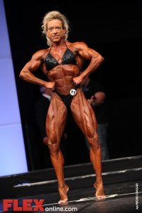 Andrea Zuercher - Womens Open - FIBO Power Pro Championships 2011