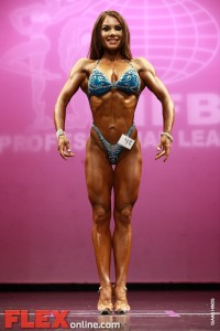 Alea Suarez - Womens Figure - New York Pro 2011