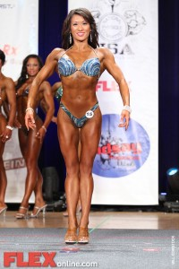 Kiana Phi - Womens Figure - California Pro Figure Championships 2011